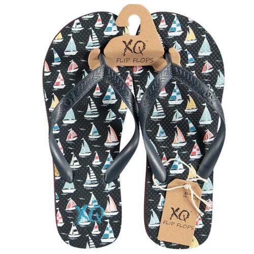 XQ Footwear teenslippers boten heren EVA zwart - Zwart