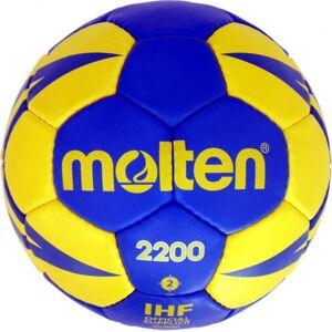 Molten handbal 2200 blauw/geel - Blauw,Geel