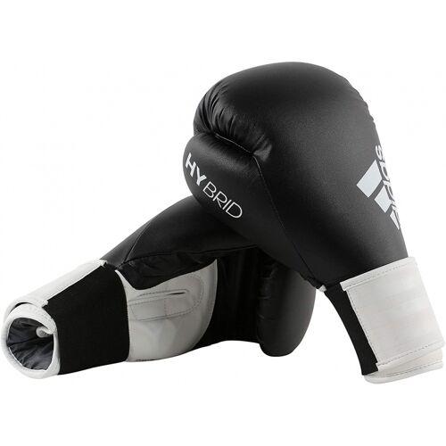 adidas bokshandschoenen Hybrid leer zwart - Zwart