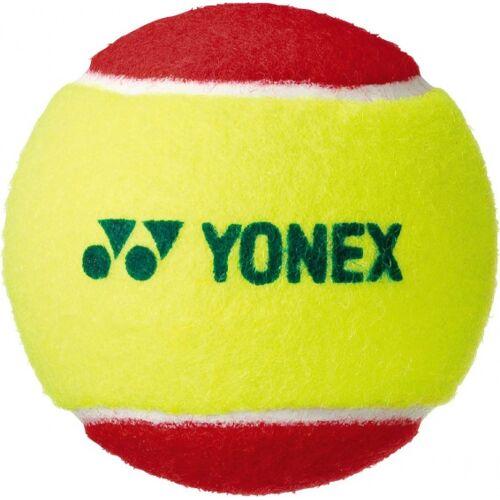Yonex tennisballen stage 3 bucket 60 stuks - Geel,Rood