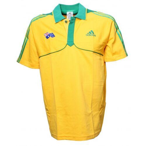 adidas polo Australië geel heren maat XS - Geel