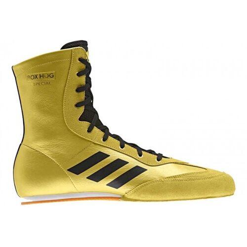 adidas Box Hog 3 boksschoenen goud heren - Goud,Zwart