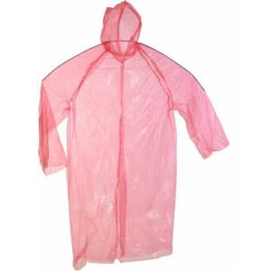 Free And Easy Regenjas Unisex One Size Rood