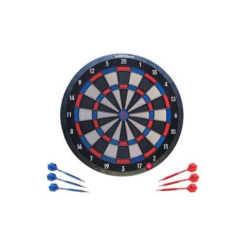 Unicorn elektronisch dartbord inclusief pijlen 55 x 57 cm - Multicolor