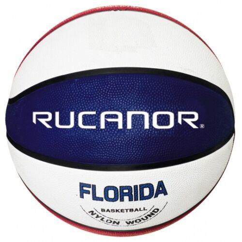 Rucanor basketbal Florida rood/wit/blauw - Rood,Wit,Blauw