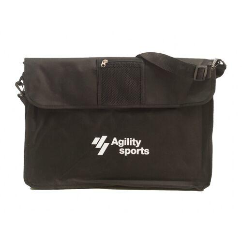 Agility Sports tas voor coachbord 90 cm zwart - Zwart