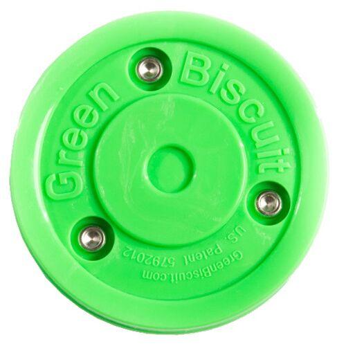 Green Biscuit hockeypuck Training groen - Groen
