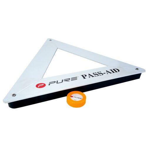 Pure2Improve ijshockey rebounder 65 x 4,5 cm wit - Wit