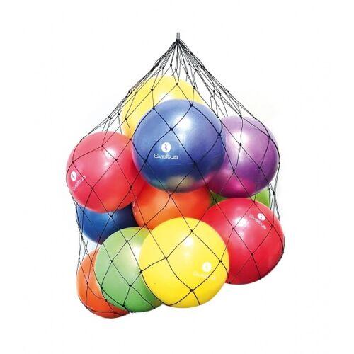 Sveltus ballennet voor max 15 ballen zwart - Zwart