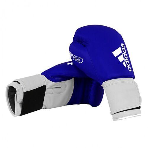 adidas bokshandschoenen Hybrid leer blauw - Blauw