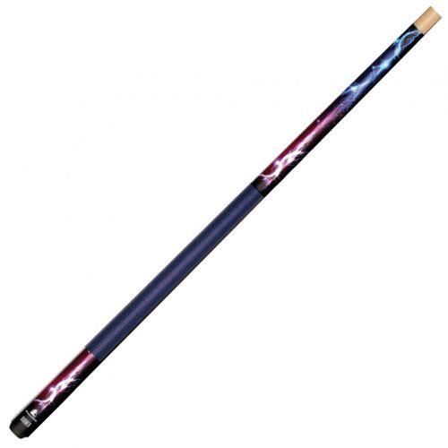 Powerglide biljartkeu Burner 10 mm hout blauw/bruin - Blauw