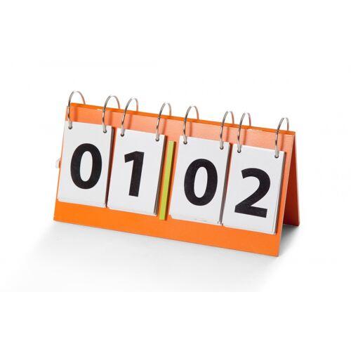 BS Toys scorebord hout 30 x 16 cm oranje - Oranje