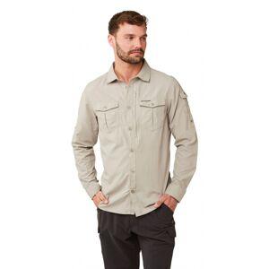 Craghoppers blouse Adventure heren polyamide beige - Beige