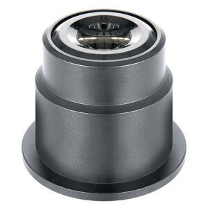 Bresser condensor donkerveld 4,5 x 4,5 cm staal zwart - Zwart
