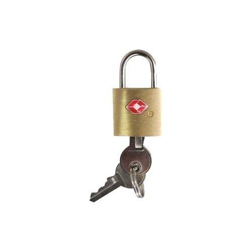 Fabrizio bagageslot TSA Luggage Lock goud/zilver 4 cm - Goud,Zilver