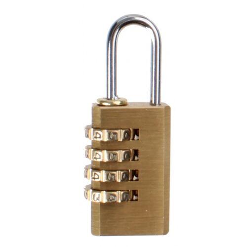 Falkx bagageslot 6R5E 60 x 20 mm aluminium brons - Brons
