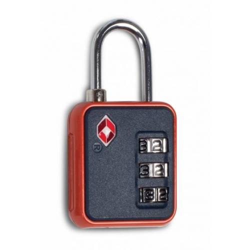 Worldpack bagageslot TSA Lock cijfercombinatie 6 cm zwart - Zwart,Rood