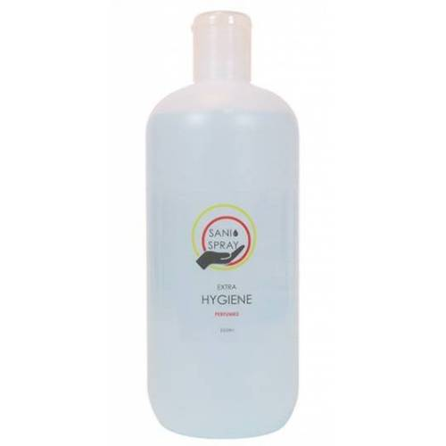 Sani desinfecterende spray alcohol 500 ml - Blauw