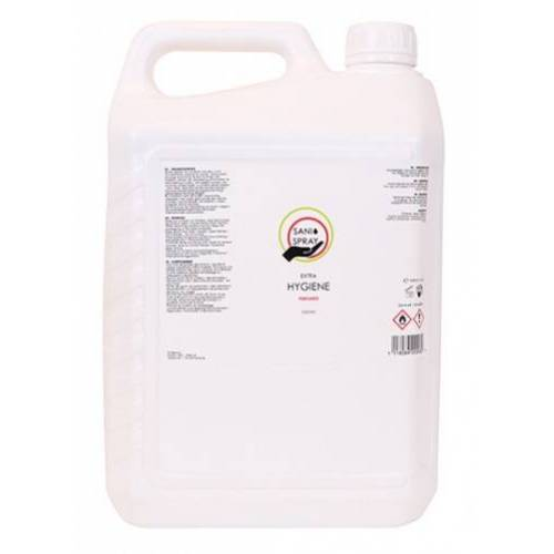 Sani desinfecterende spray alcohol 5 liter - Blauw