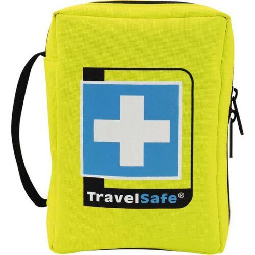 TravelSafe Ehbo set Globe 12 cm polyester geel 69 delig - Geel