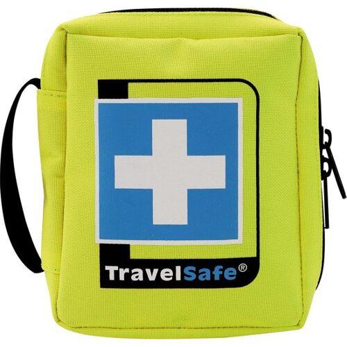 TravelSafe Ehbo set Sterile 12 cm polyester geel 21 delig - Geel