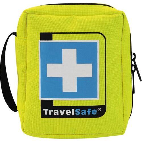 TravelSafe Ehbo set Sterile plus 12 cm polyester geel 31 delig - Geel