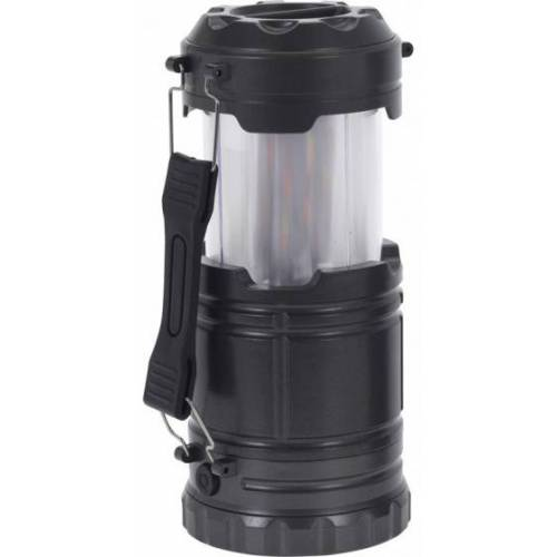 Redcliffs campinglamp 40 lumen 14 cm 2W zwart - Zwart