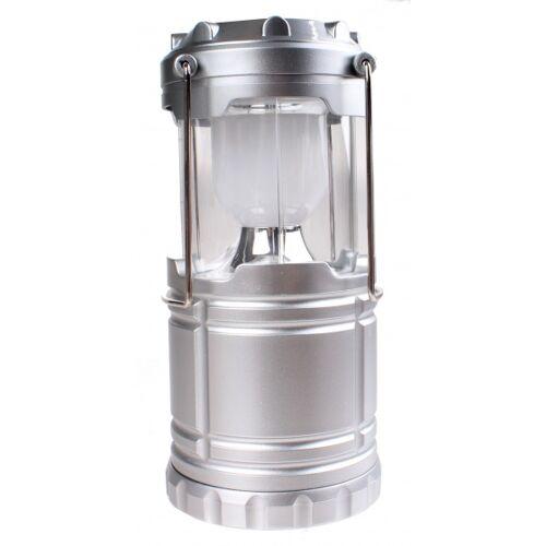Redcliffs campinglamp 18,5 cm zilver - Zilver