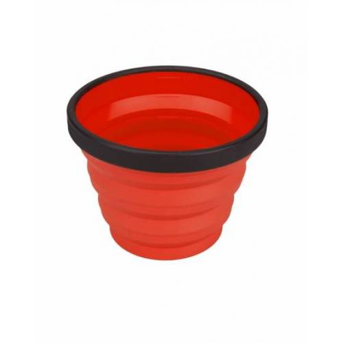 Sea to Summit X Cup campingbeker 250 ml rood - Rood,Zwart