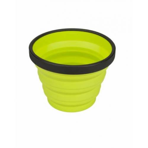 Sea to Summit X Cup Campingbeker inklapbaar 250 ml lime - Lime,Zwart