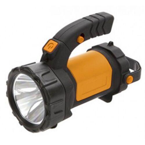 Summit campinglamp zwart/oranje 17 cm - Zwart,Oranje