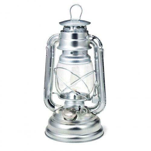 Boomex olielamp 24,5 cm zilver - Zilver