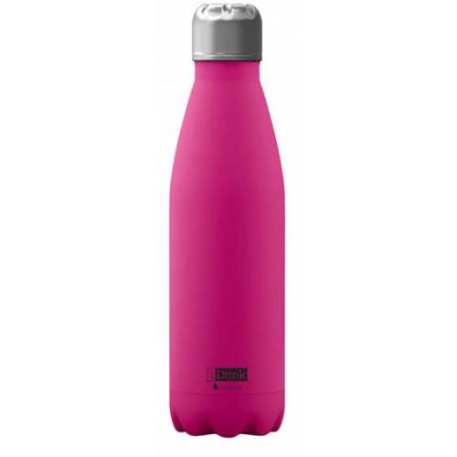 I-Drink I Drink drinkfles 650 ml RVS roze - Roze