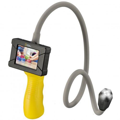 National Geographic endoscope junior 86 cm rubber grijs 2 delig - Grijs,Geel