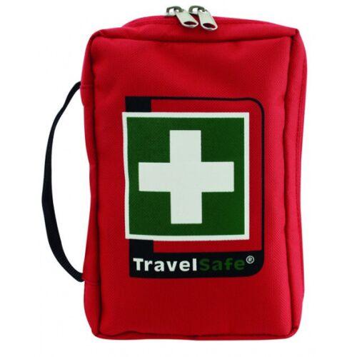 TravelSafe Ehbo set Runner polyester rood 33 delig - Rood