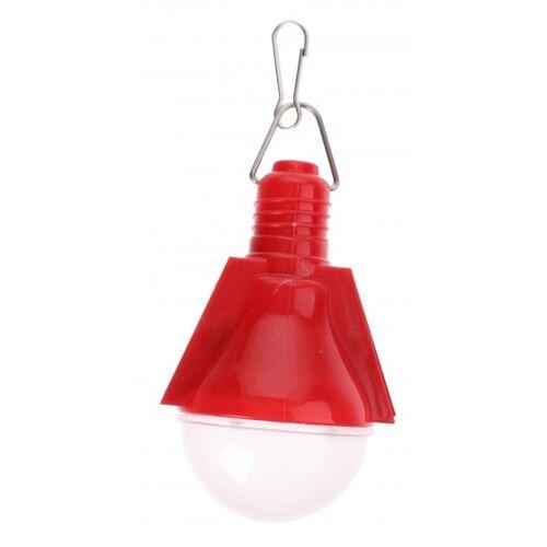 VDM solarlamp zonne energie rood 4 stuks - Rood