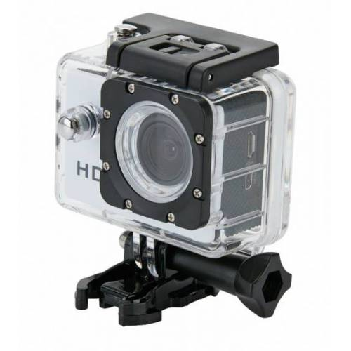 XD Collection actiecamera 5,9 x 4,1 cm ABS/PC wit 11 delig - Wit
