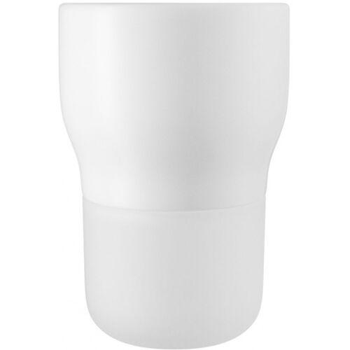 Eva Solo bloempot met bewateringssysteem 13,5 cm glas - Wit