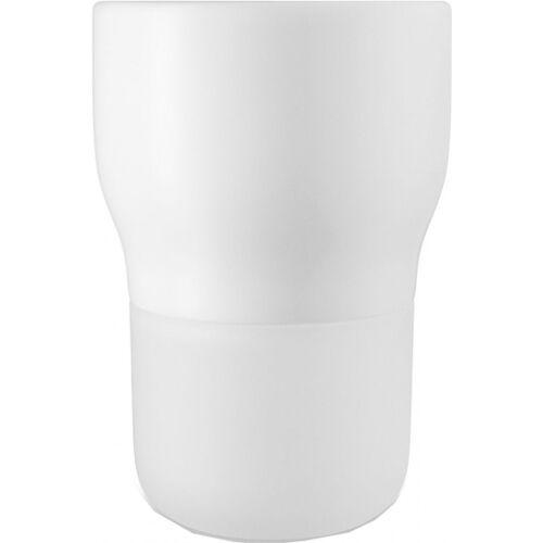 Eva Solo bloempot met bewateringssysteem 15,5 cm glas - Wit