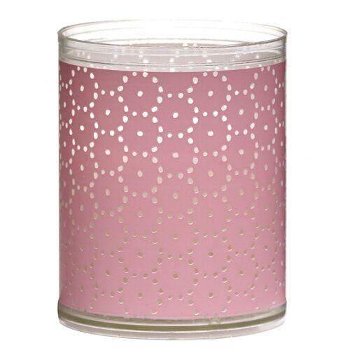 Bolsius geurkaarsen Rosa wax roze 2 stuks - Roze