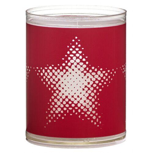 Bolsius geurkaarsen Star wax rood 2 stuks - Rood