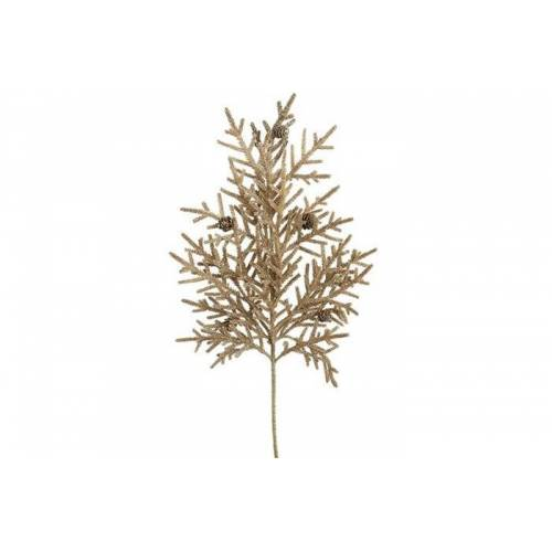 CF label versiering coniferen 26 x 66 cm bruin - Bruin