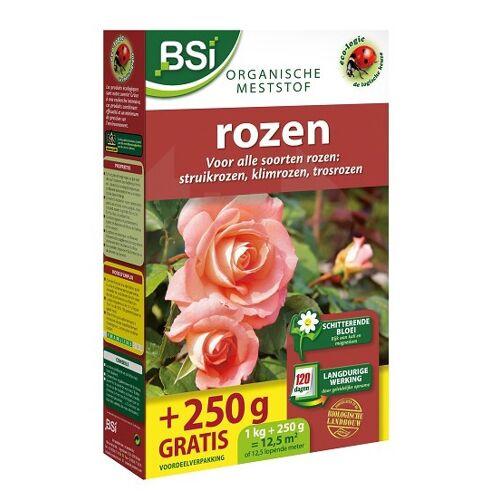 BSi meststof rozen organisch 1,25 kg