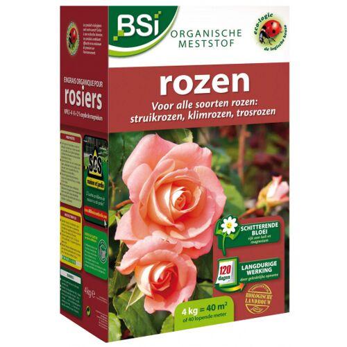 BSi meststof rozen organisch 4 kg