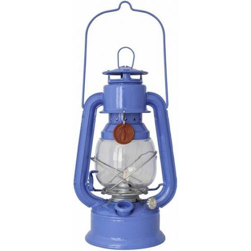 Guillouard olielamp Lucile 14 x 30 cm staal/glas blauw - Blauw