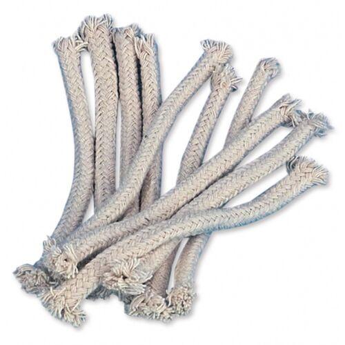tib tuinfakkel lont 14 cm katoen wit 10 stuks - Wit