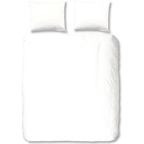 Hip beddengoed Uni 240 x 220 cm katoen wit - Wit