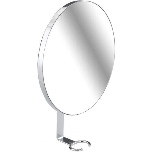 Wenko douchespiegel anti condens 23 x 17 x 4 cm RVS zilver - Zilver