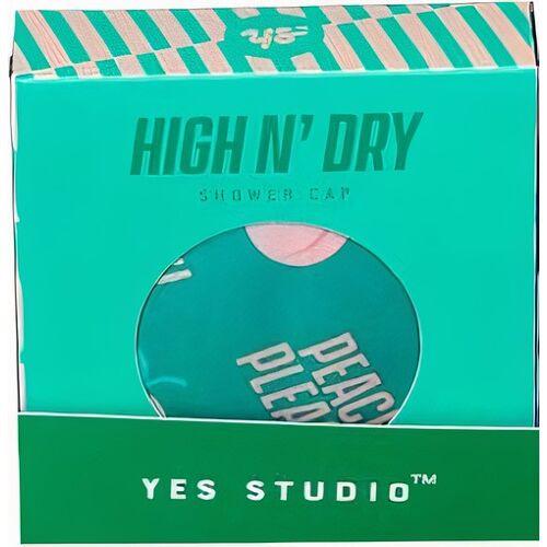 Yes Studio douchemuts High N' Dry polyester groen 6 stuks - Groen
