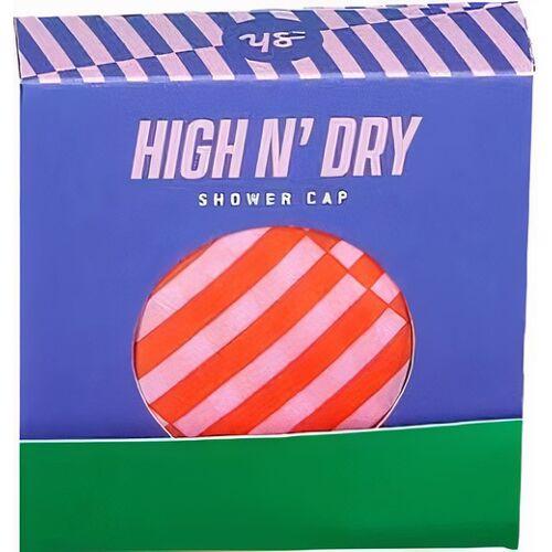 Yes Studio douchemuts High N' Dry polyester paars 6 stuks - Paars